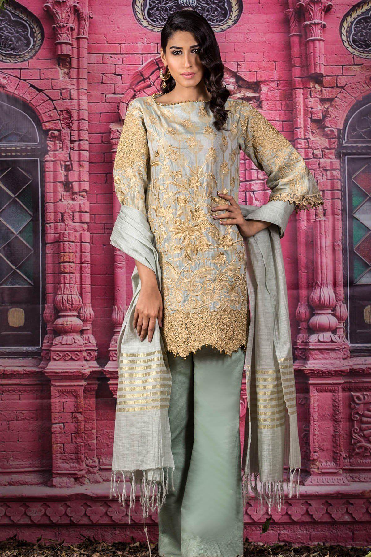 80cb71207c Alkaram Studio Festive Eid Collection 2018 | Pakistani Fashion ...