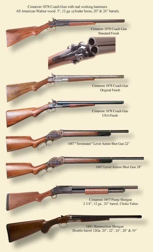 Shotguns - Cimarron Firearms - Old West Guns and Cowboy Action