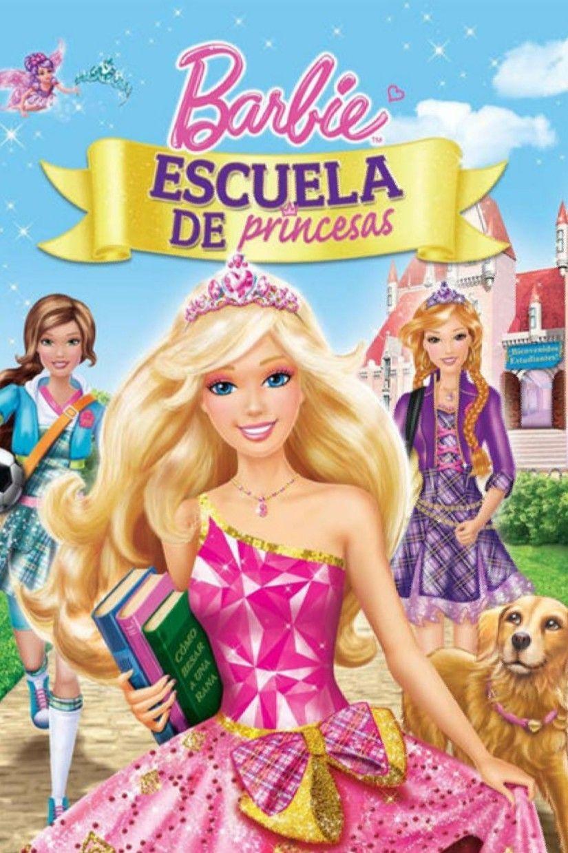 Barbie Escuela De Princesas 2011 Princess Charm School Barbie Movies Barbie Princess