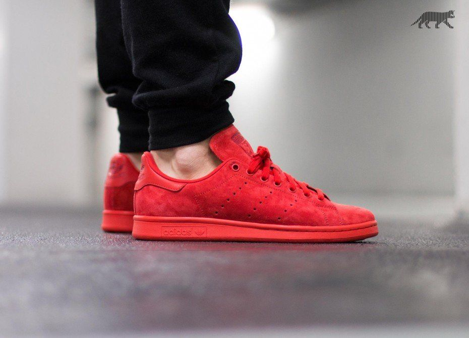 check out 205f8 48eae adidas Stan Smith (Red / Red / Power Red) | clothing ...