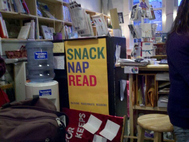 Indie bookshop in Athens, Georgia