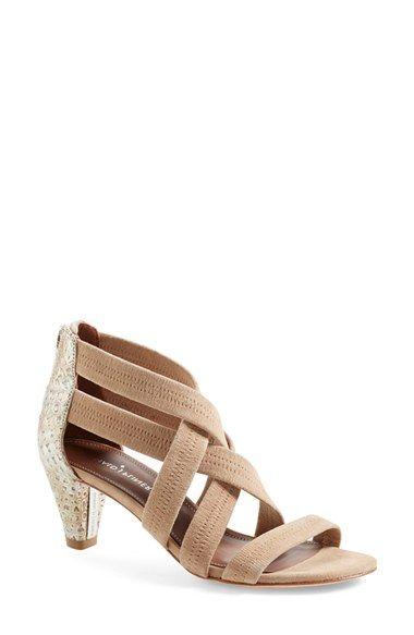 Donald J Pliner Metallic Slingback Sandals finishline cheap price C5ft8e
