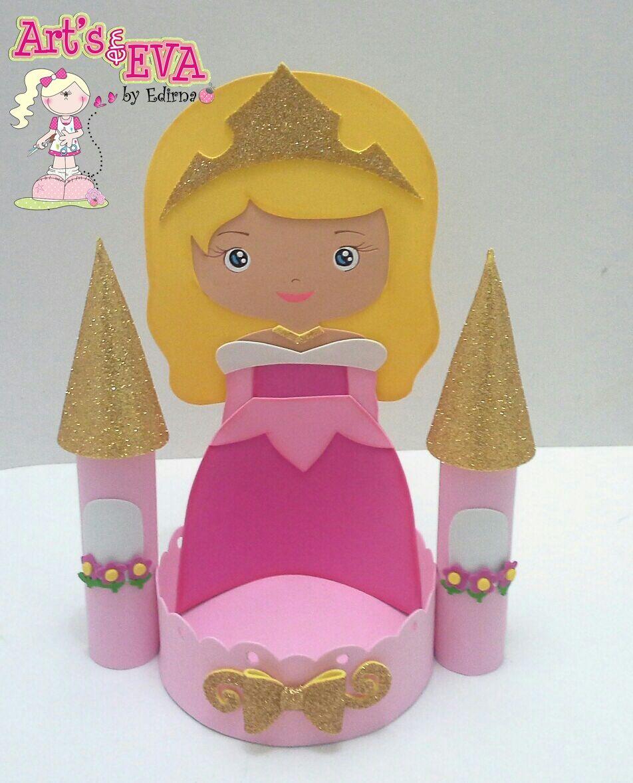 Excepcional ♥ Ateliê by Edirna ♥: centro de mesa princesas em eva  KK16