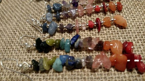 Check out this item in my Etsy shop https://www.etsy.com/listing/224239179/chakararainbow-inspired-earrings-with