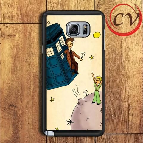 Petit Prince And Dr Who Samsung Galaxy Note 5 Case