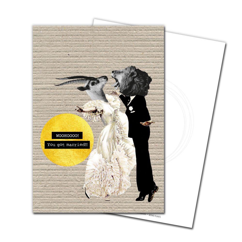 Glückwunschkarte: Hochzeit #1