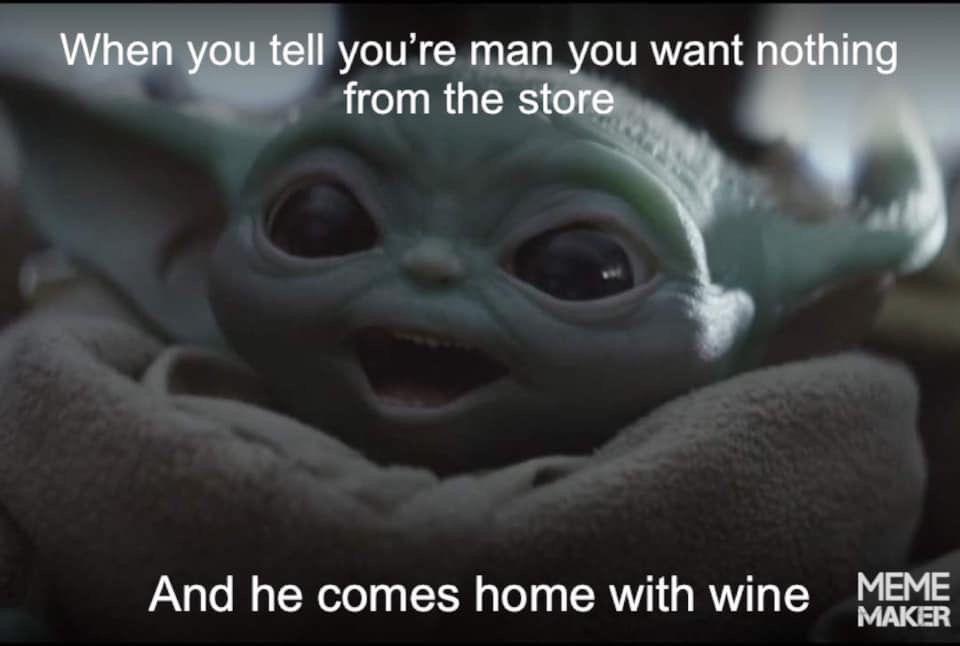 Pin By Liliya Kolosova On Geek Pics For The Geek In Us All Yoda Meme Star Wars Baby Star Wars Memes