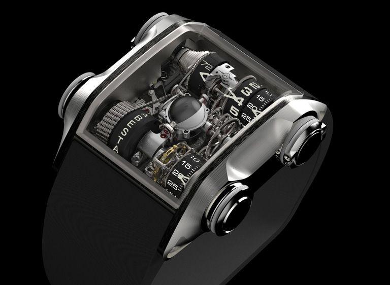 3e6f89b0452bed 10 – Cabestan Winch Tourbillon. Il Cabestan Winch Tourbillon è un orologio  realizzato da ...