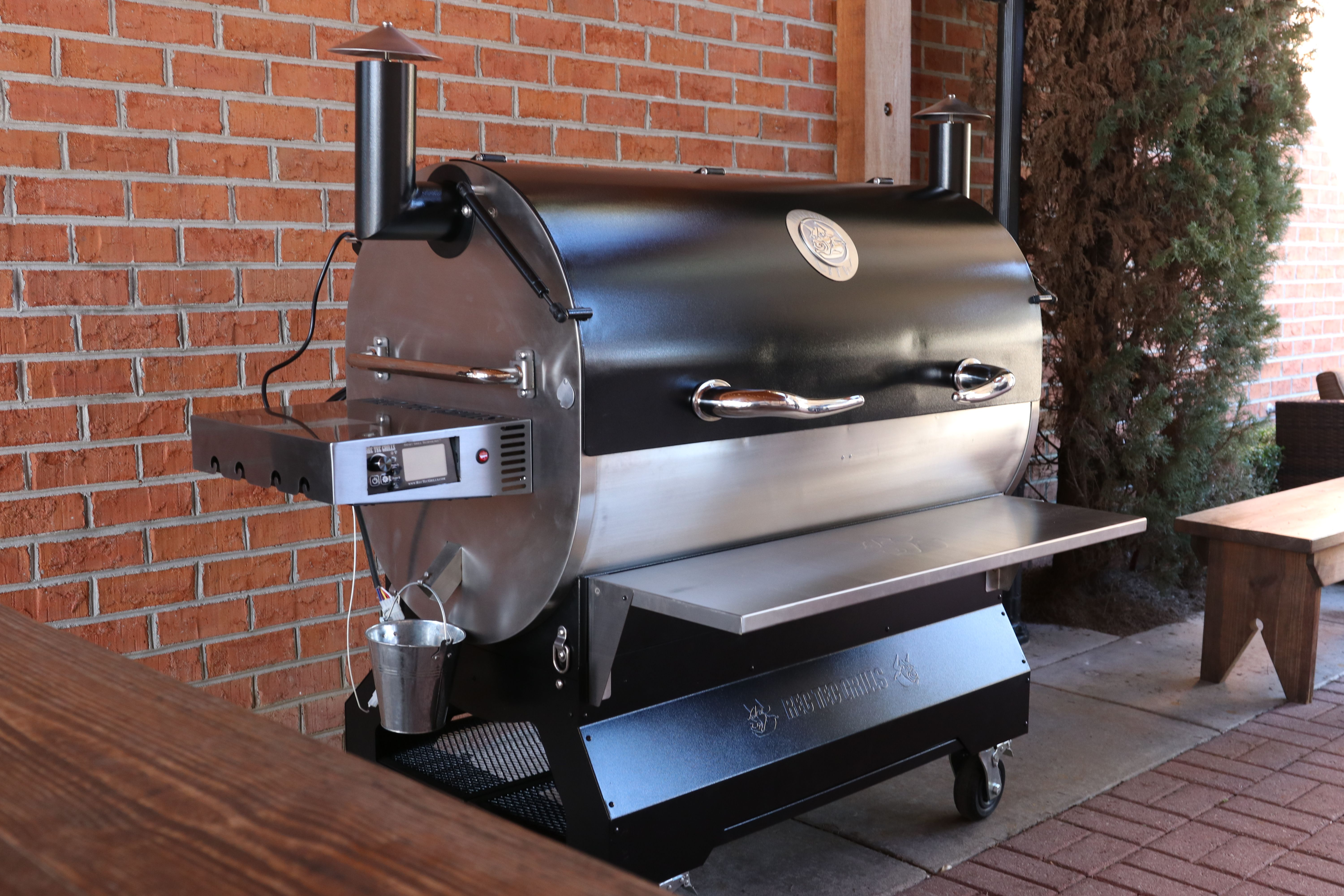 Pin By Recteq On Rt 2500 Bfg Fire Pots Wood Pellet Grills Stainless Steel Rod