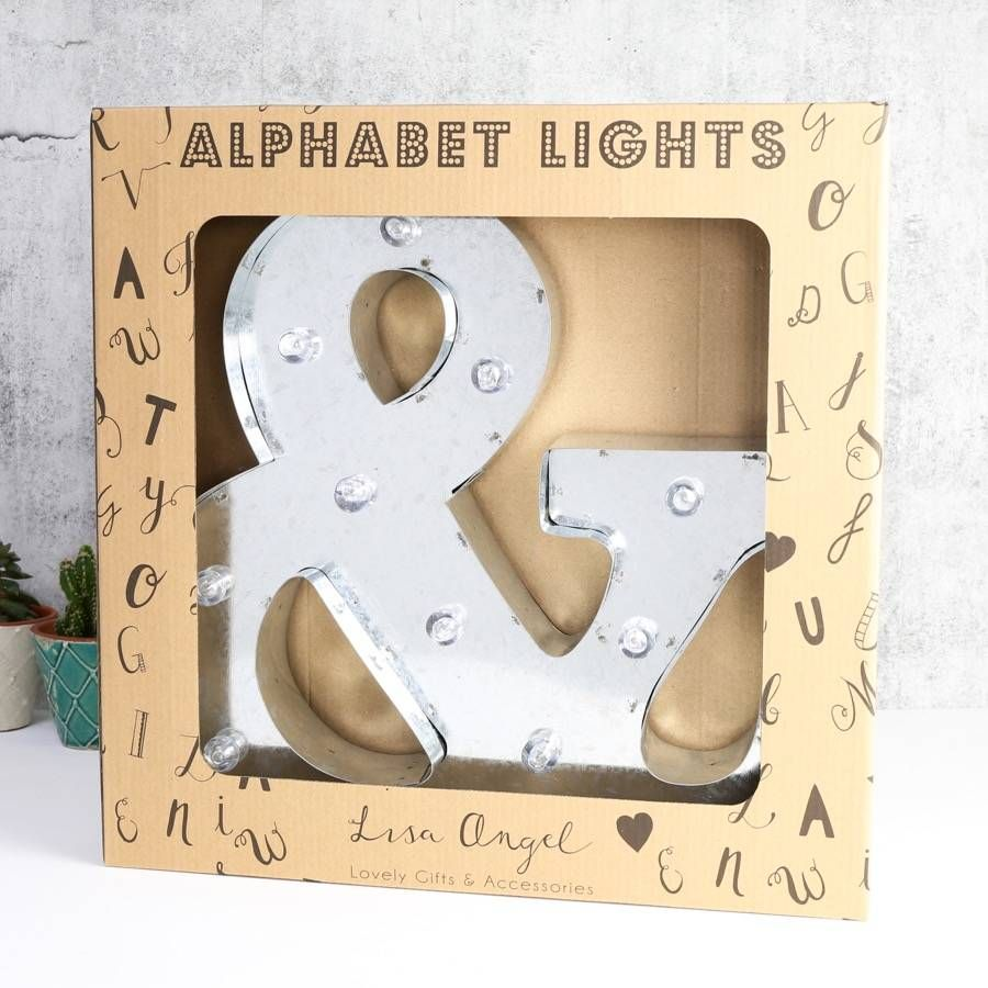 Metal Initials Awesome Couples Initials Industrial Metal Led Letter Lights  Industrial Review