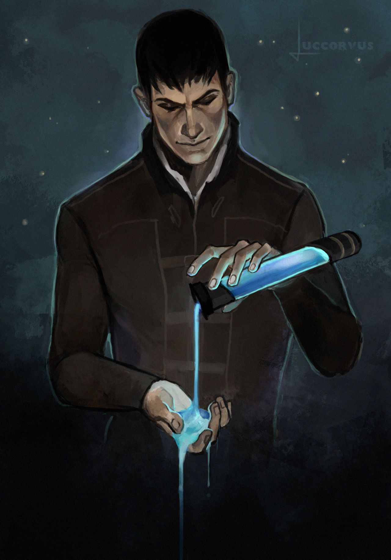 Dishonored Fan Art Outsider Dishonored The Outsiders