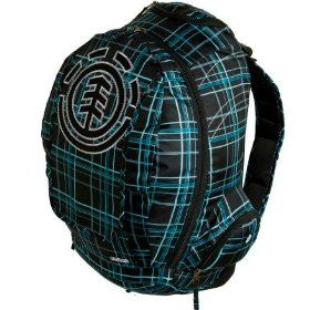 Element Gamine Plaid Backpack - Women's.  $49.45            Who said backpacks can't be sophisticated? You can carry, in comfort, all your gear for a day on campus in the Element Women's Gamine Plaid Backpack and not mess with the urban vibe of your carefully assembled outfit.Product FeaturesMaterial: 600D polyesterVolume: 1600 cu ...