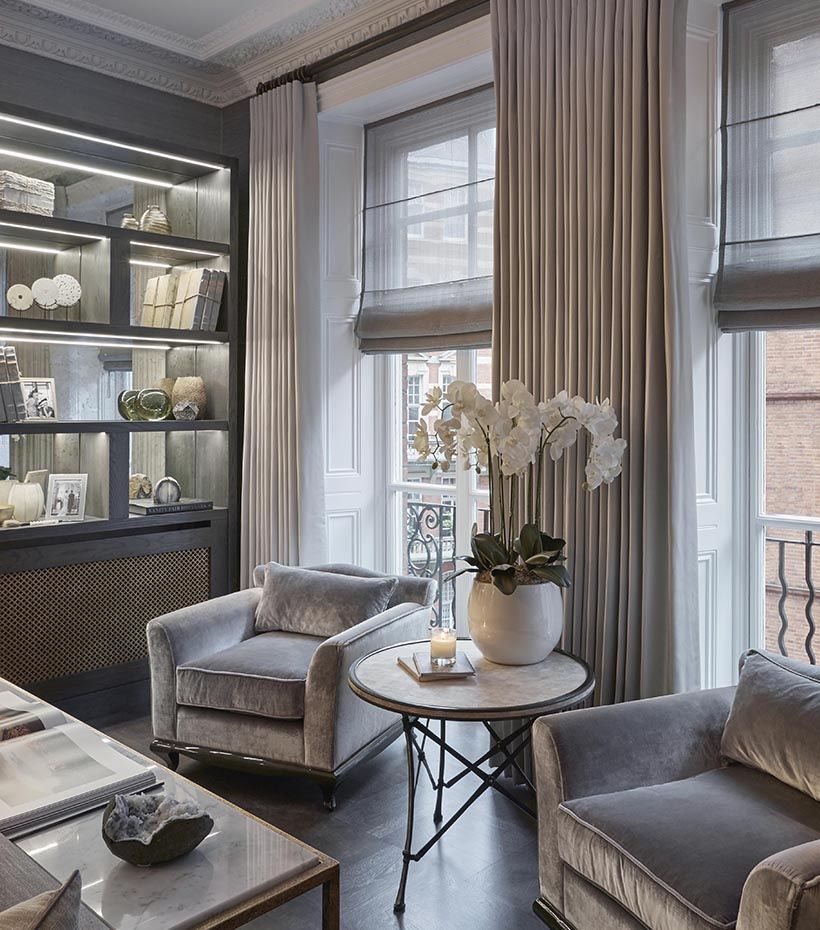 Luxurious Comfort In This Knightsbridge Home Renovation: Sophie Paterson Interiors
