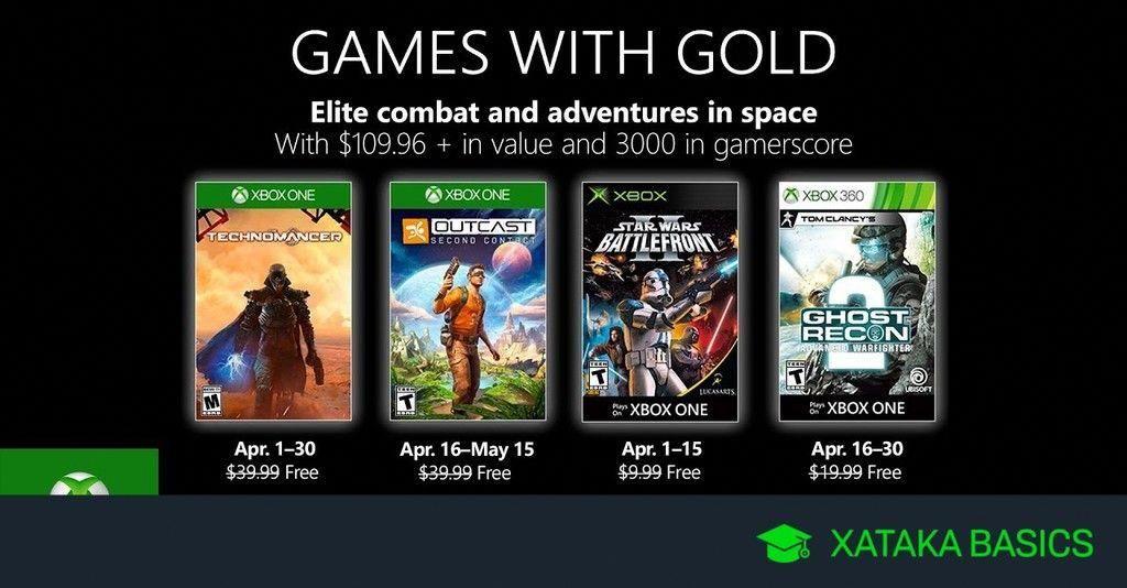 Juegos De Xbox Gold Gratis Para Xbox One Y 360 De Abril 2019 Xatakabasics Xbox Live Xbox One Xbox