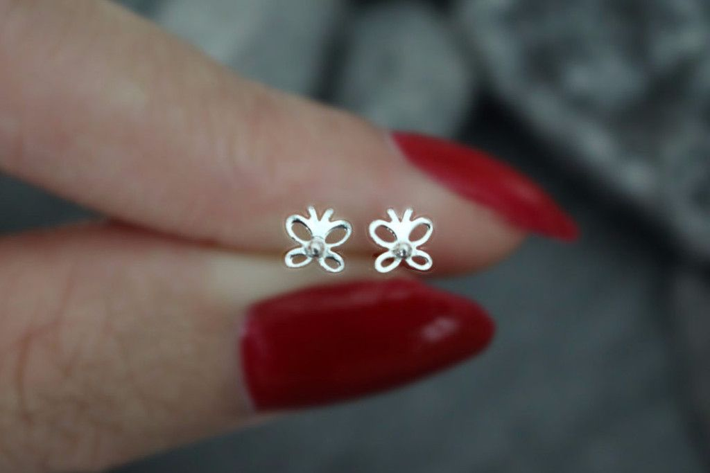 Butterfly 20g Nose Stud Tragus Earrings Tragus Piercing Jewelry Cartilage Earrings