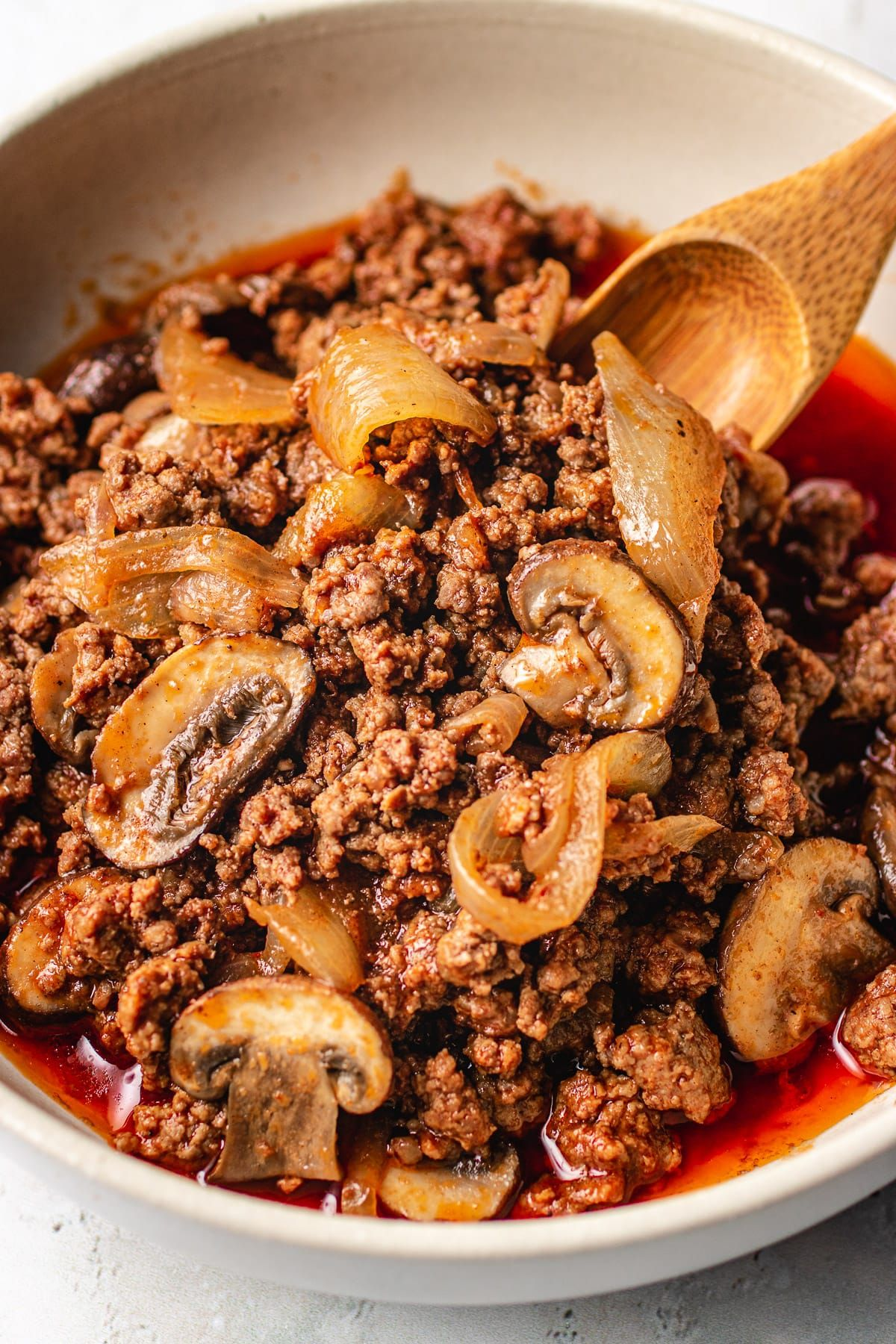 Easy Ground Beef Meal Prep Recipe Paleo Whole30 Recipe In 2020 Beef With Mushroom Beef Recipes Ground Beef
