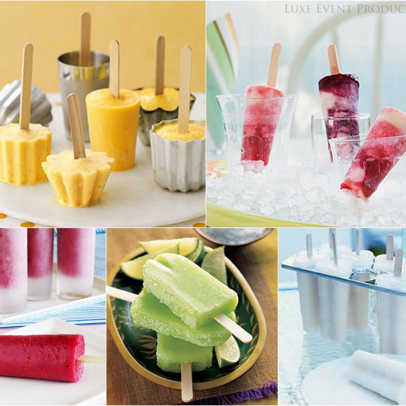 Summer Wedding Food: Some Cocktail Popsicle Recipes For A Summer Wedding