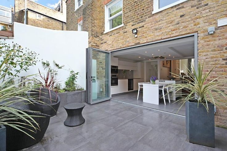 Pin by Laura on HOME DESIGN | Pinterest | Bi fold doors, Extensions ...