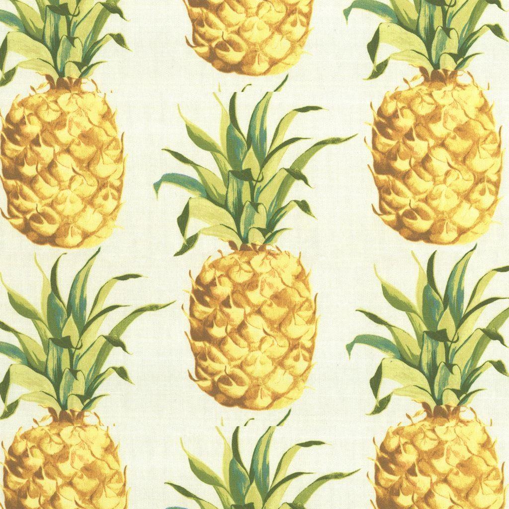 tissu bachette ananas tissus maison mondial tissus ideas pinterest pineapple fabric. Black Bedroom Furniture Sets. Home Design Ideas