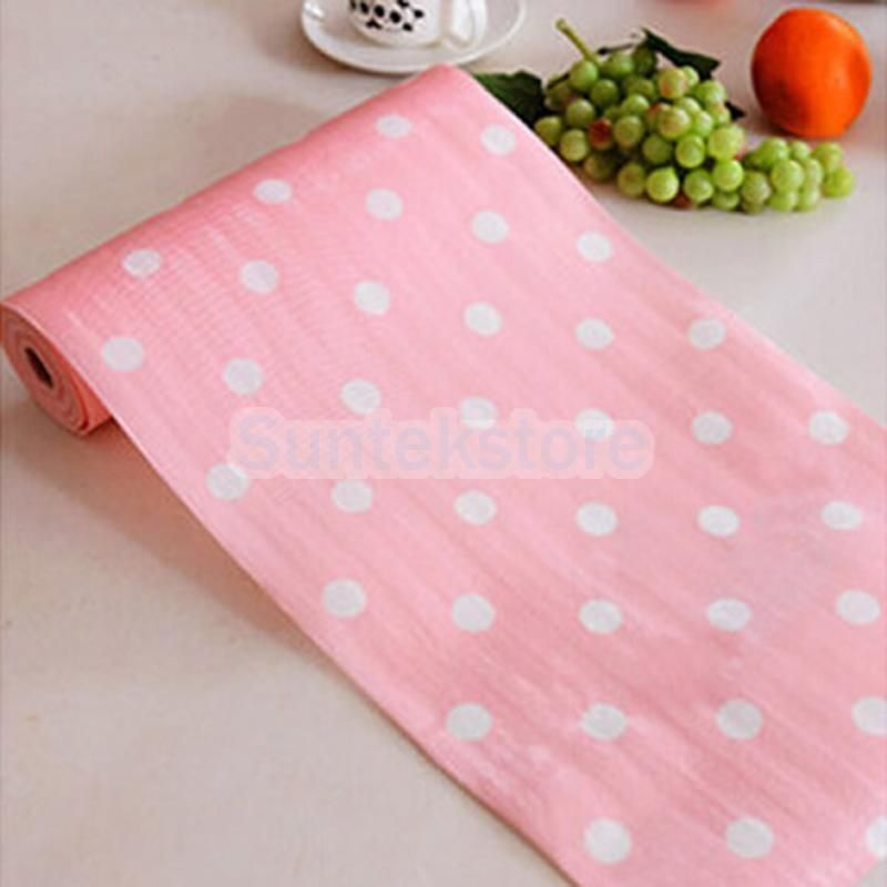 300Cm Anti Slip Kitchen Cupboard Liners Mat Roll Drawer Liner Table Pat #3