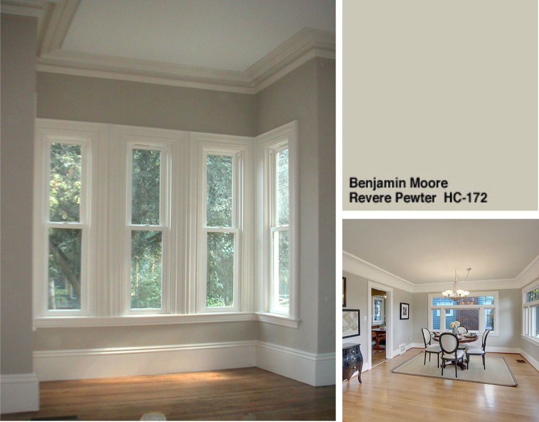 Benjamin Moore Revere Pewter Perfect Paint