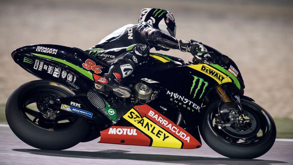 Jonas Folger Qatar Test Day 2 test action Motogp race