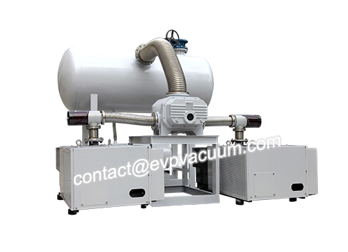 vacuum system in the manufacture of aeromechanical and