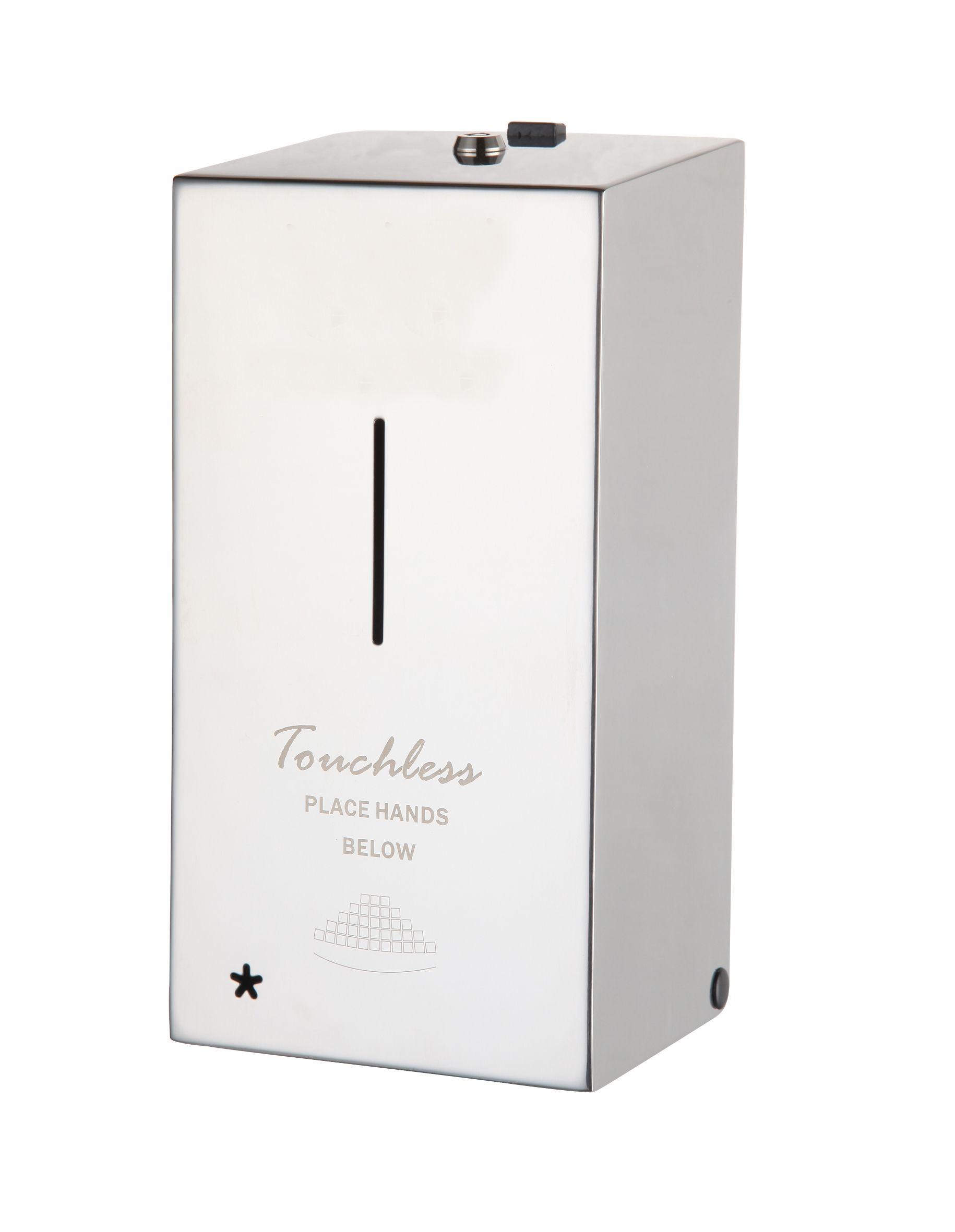 Automatic Stainless Steel Antibacterial Dispenser Dt 800s Hand