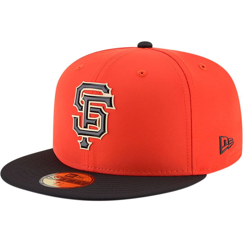 633851ab62417 inexpensive san francisco giants new era on field prolight batting practice  59fifty fitted hat orange 3e315