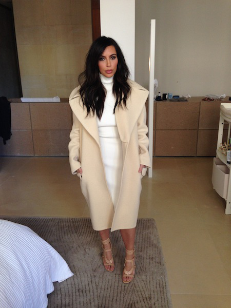 Kims Obsession Over The All White  Nude Trend -7461