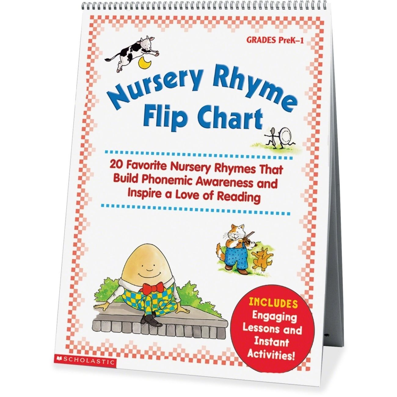 Functional Math Worksheets Word Building Phonemic Awareness Is A Joy With This Nursery Rhyme Flip  Free Printable Handwriting Worksheets For Kids Pdf with Scientific Worksheet Word  Laminated Flip Chart Featuring  Wellloved Nursery Rhymes Teachers  Can Turn To This Sturdy Colorful Resource Every Day To Teach Rhymes And  Word Kindergarten Spring Worksheets Word