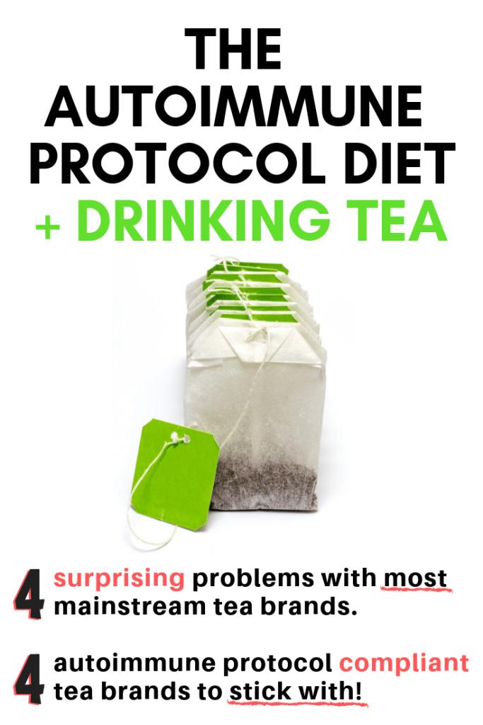 autoimmune paleo diet tea
