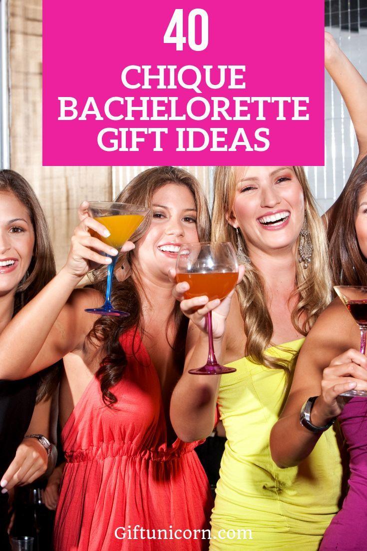 40 chic classy bachelorette gift ideas she will love