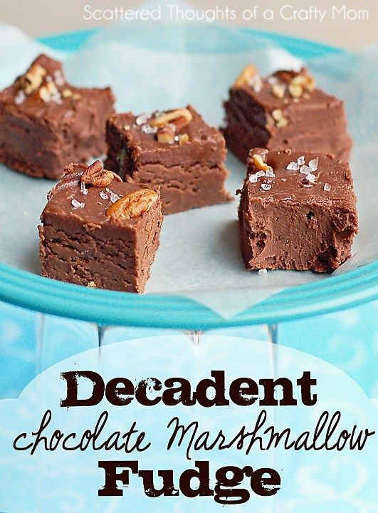 Decadent Chocolate Marshmallow Fudge Super Easy To Make And Bonus 3 Ww Points Per Piece With Images Fudge Recipes Sweetened Condensed Milk Recipes Marshmallow Fudge