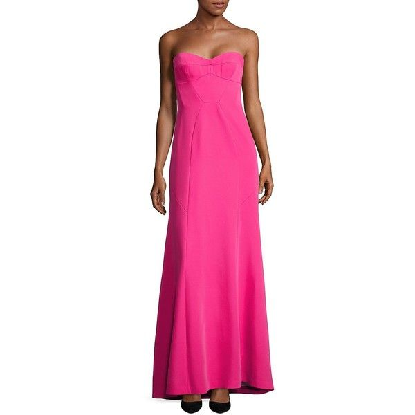 BCBGMAXAZRIA Women\'s Sweetheart Strapless Gown ($179) ❤ liked on ...