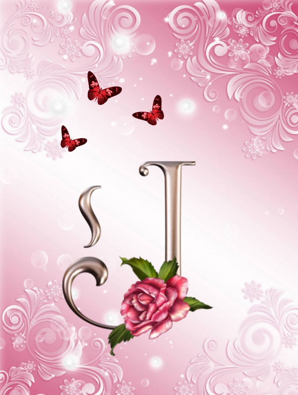 Download Letter J Wallpaper By Bluecoral74 79 Free On Zedge Now Browse Millions Of Popular Abst Paper Quilling Designs Alphabet Wallpaper Apple Wallpaper