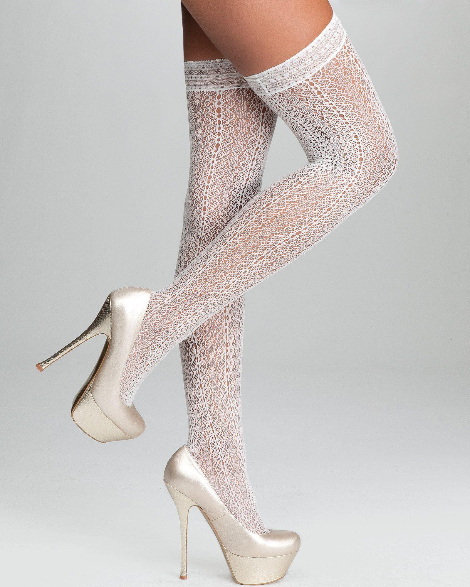 Black High Heels Stocking