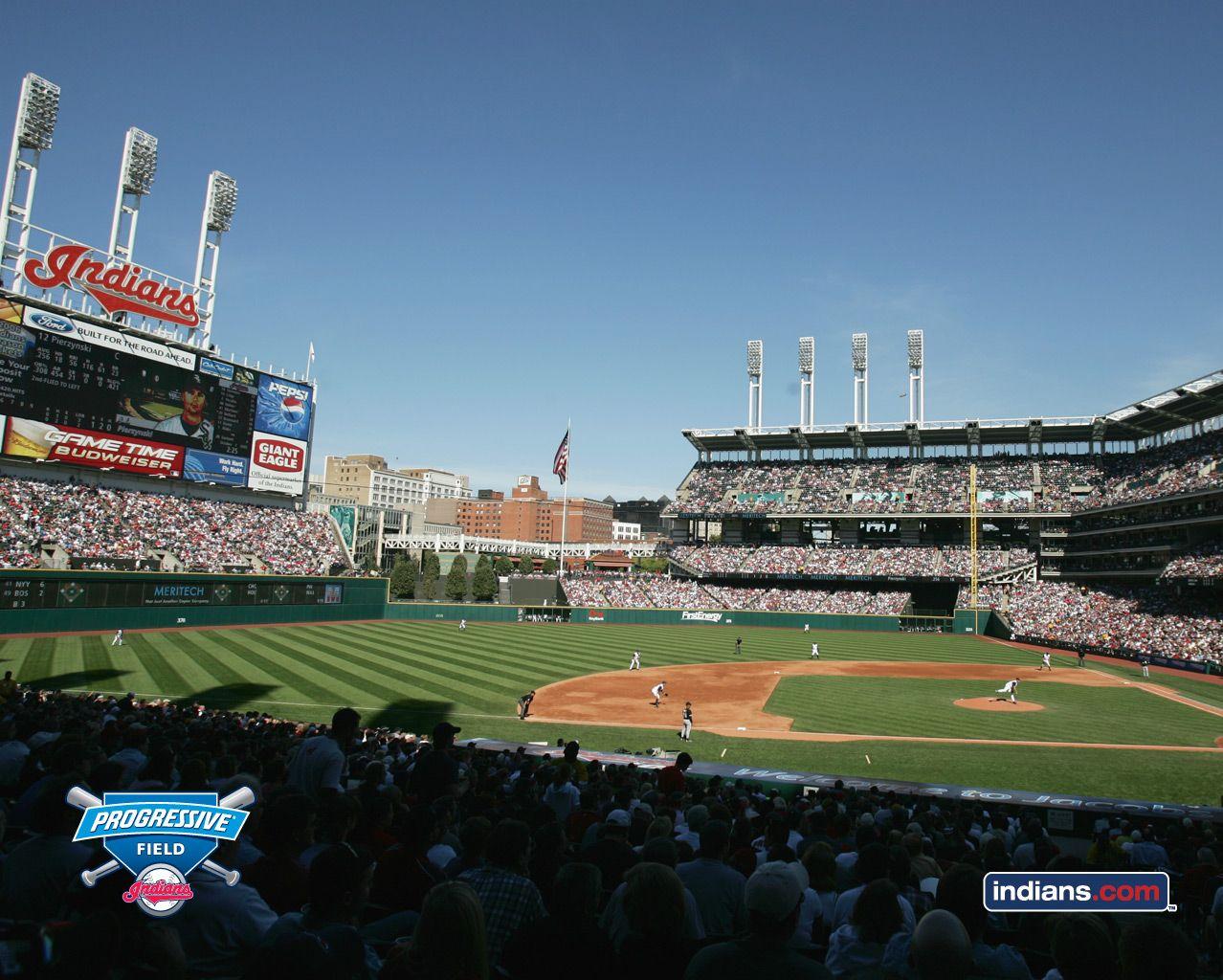Jacobs Field Before It Was Progressive Cleveland Indians Cleveland Indians Baseball Indians Game