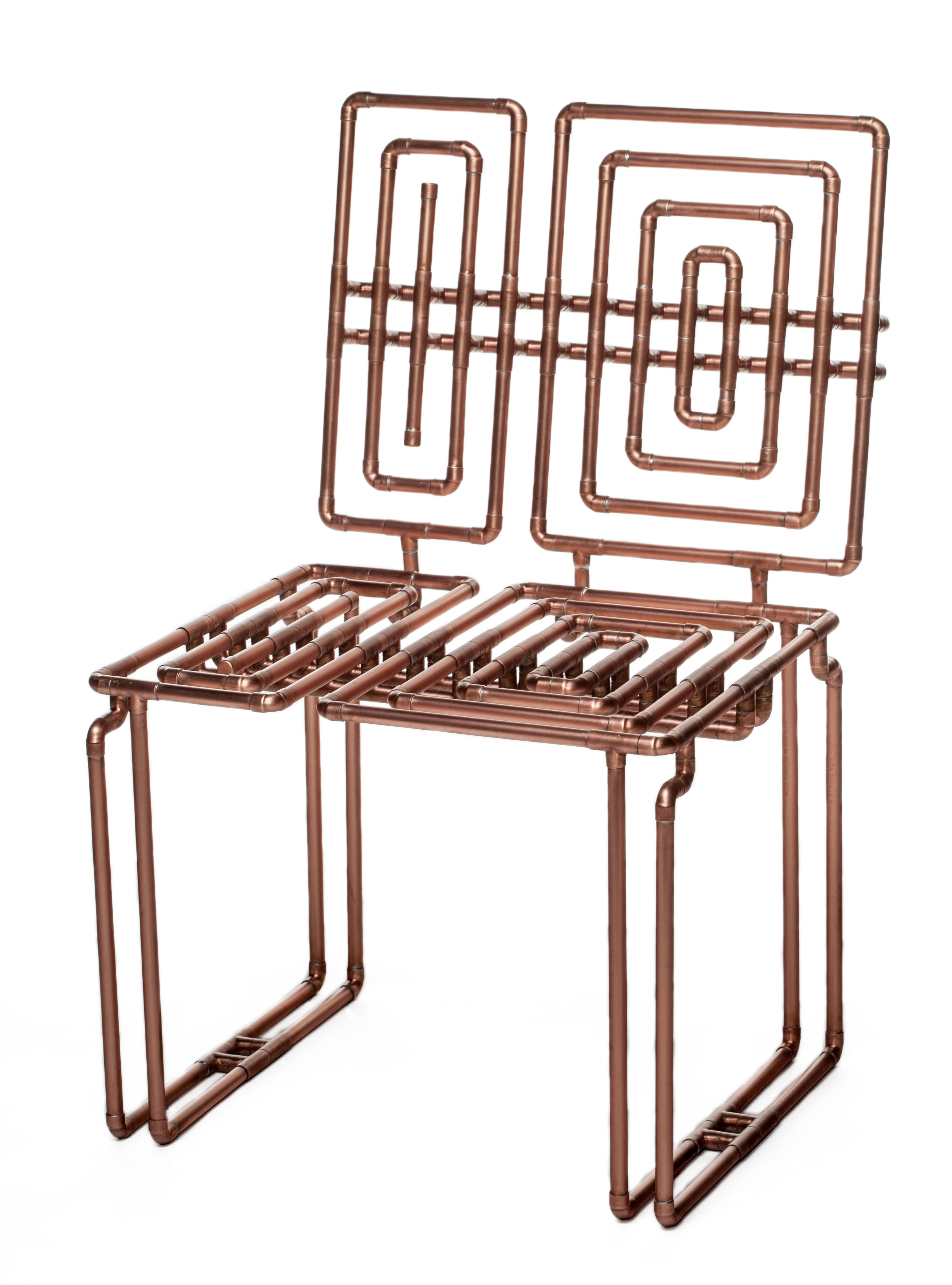 T J Volonis Furniture Pinterest Copper Furniture Pipe Decor  # Muebles Tumbing