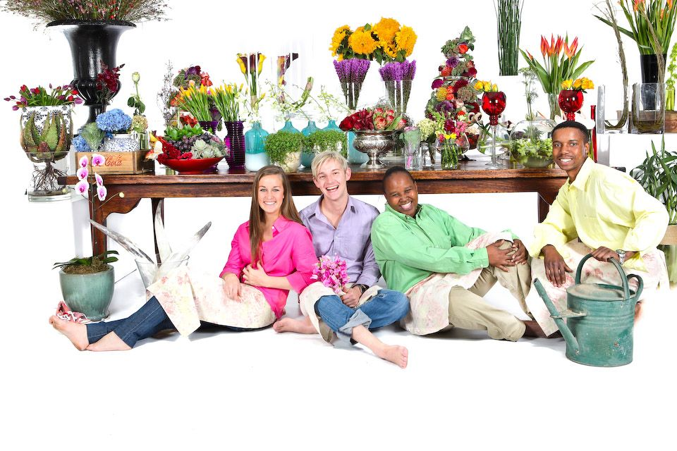 Floral photo-shoot