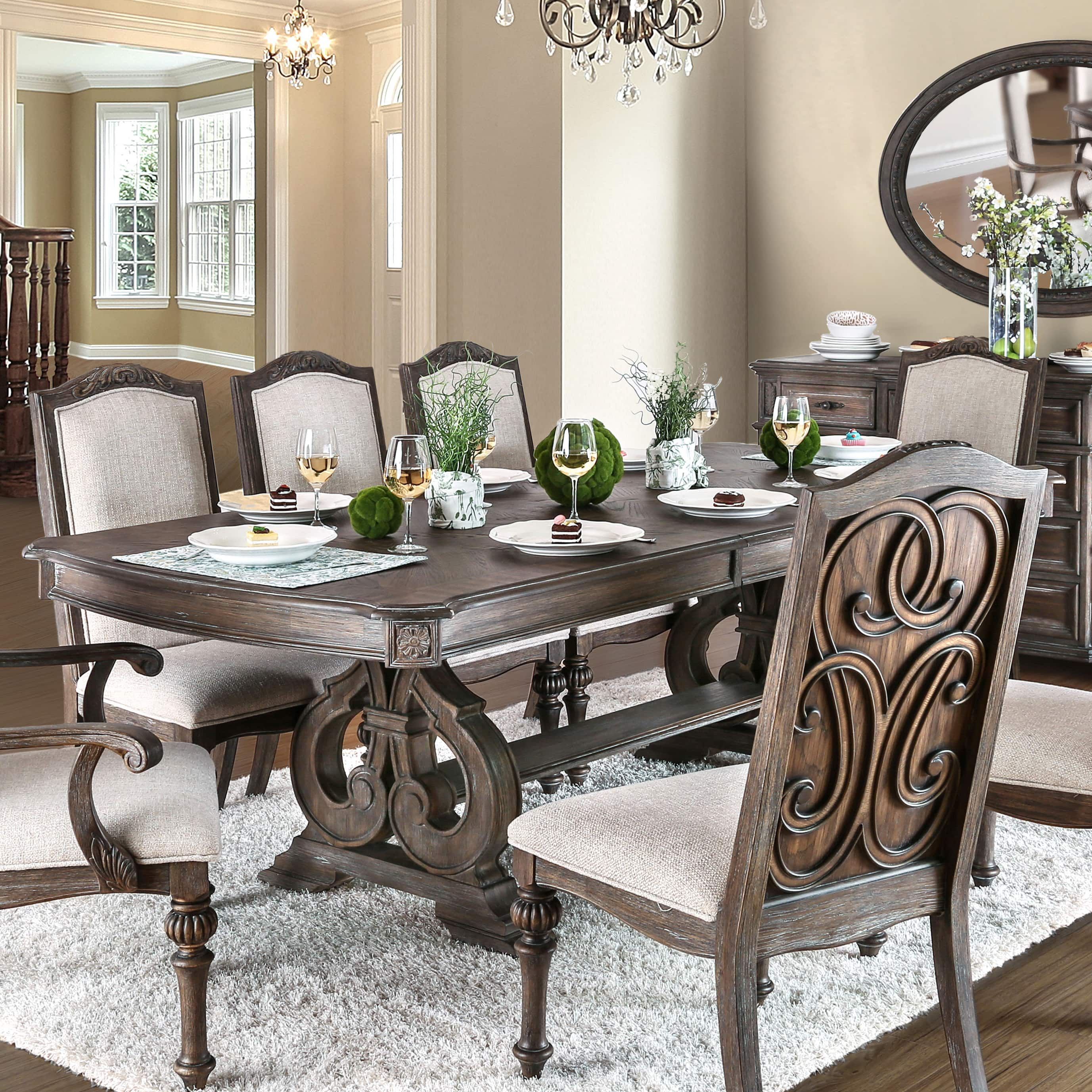 products uncategorized dining set pedestal co table double