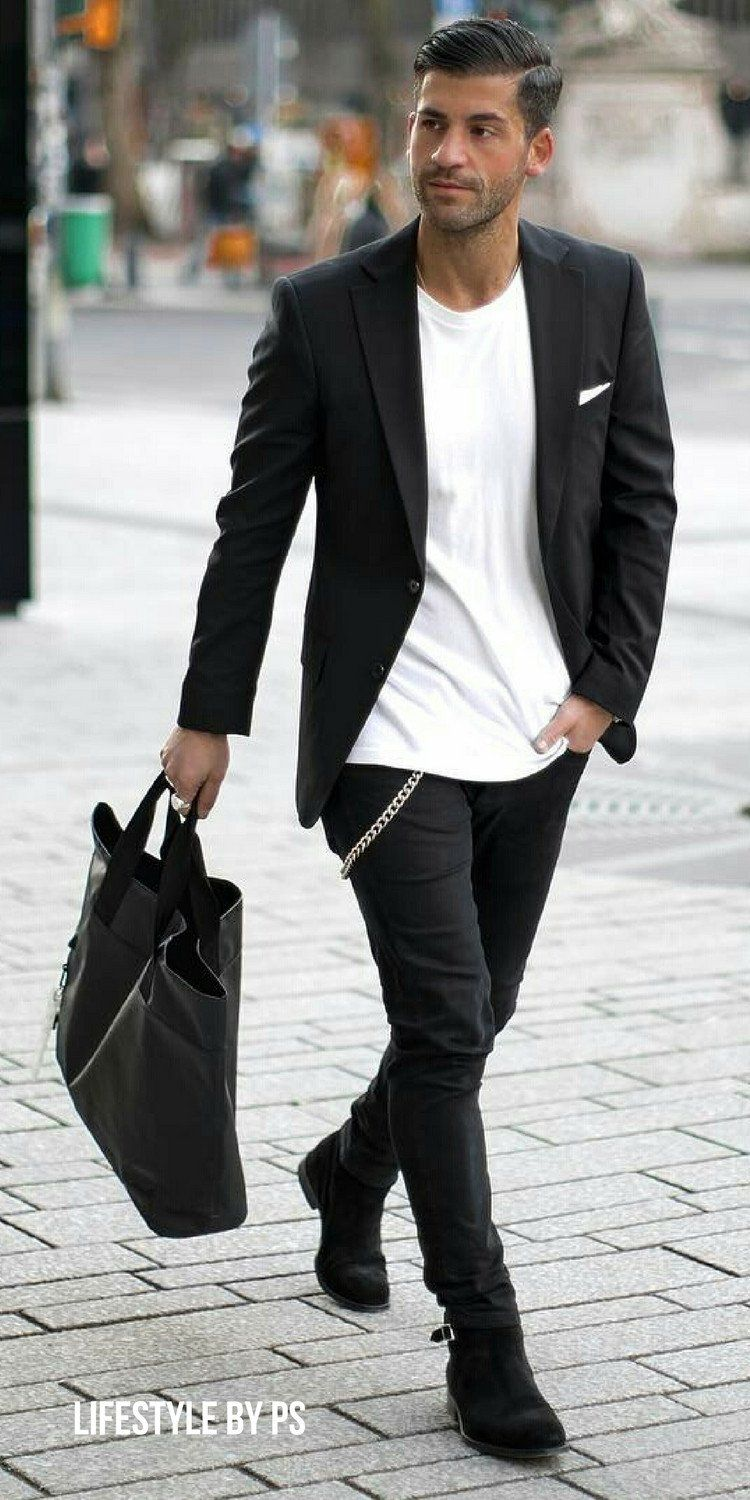 How To Wear Black and White Outfit On The Street (10 Ideas