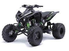 Kawasaki KFX 450 ATV Full Single Inframe Exhaust System   Atvs, Atv