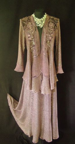 SOLD - ANN BALON Skirt Jacket Outfit Size 12 14 16