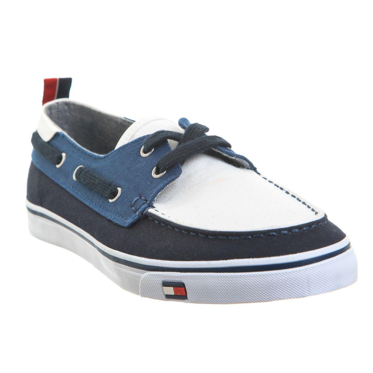 Zapatos azules de verano Tommy Hilfiger Sport para hombre CiHAX