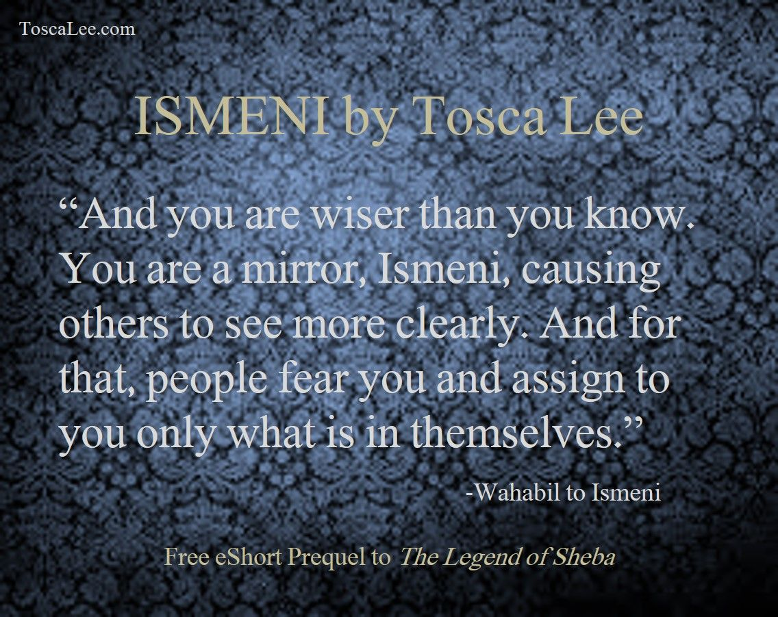 From Ismeni, The Free Ebook Prequel To The Legend Of Sheba