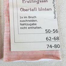 kostenloses Schnittmuster und Nähanleitung für ein Baby-Shirt 50/56-62/68-74/80-76/92 #babyshirts