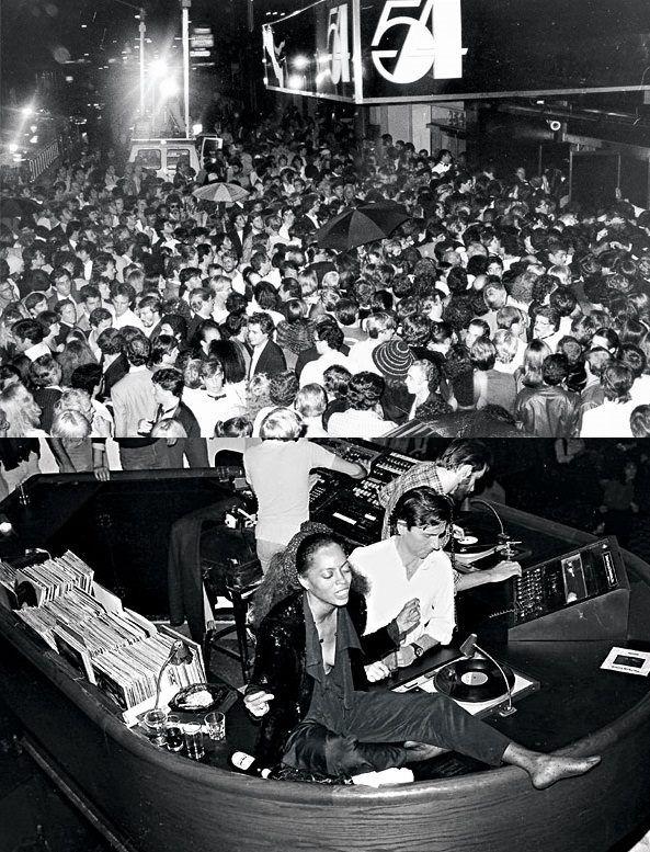 Studio 54, NY (Diana Ross In The DJ Booth)