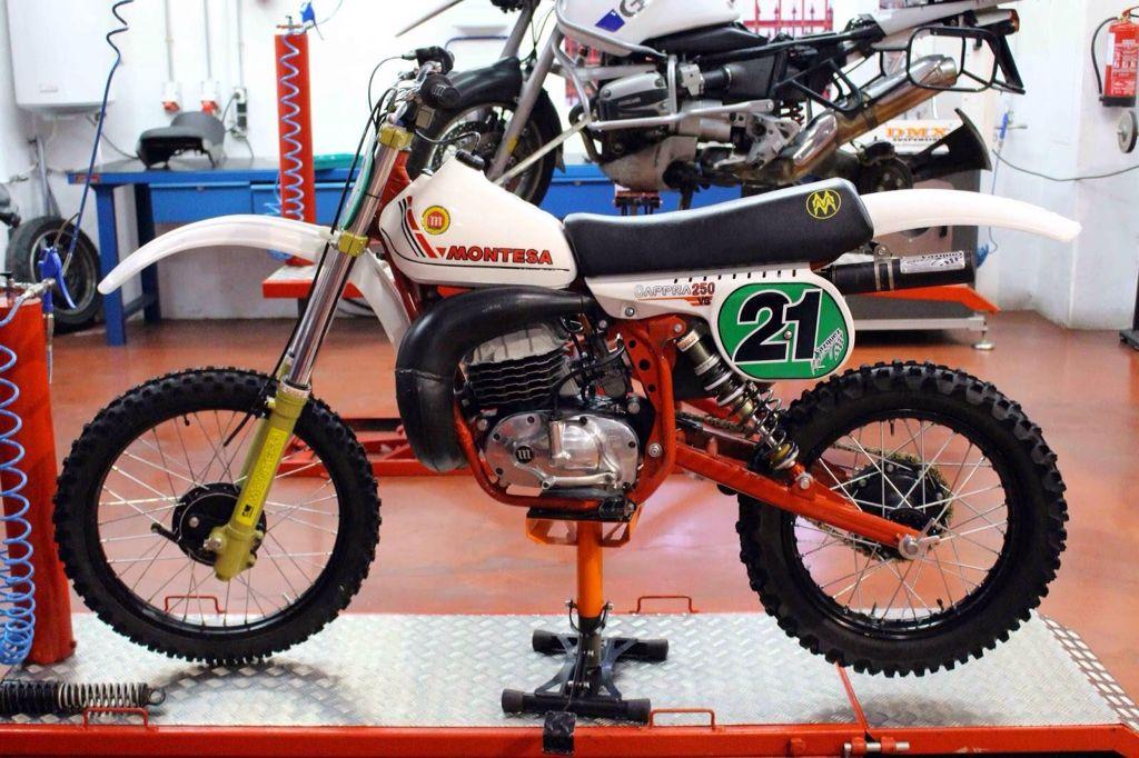 Montesa Motorcross Bike Vintage Motocross Vintage Bikes