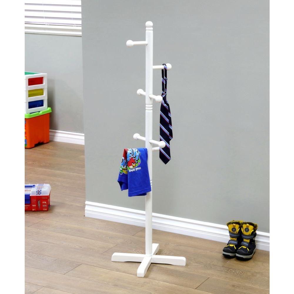 Hat Tree Clothes Hanger IKEA Krokig Childrens Coat Stand Bag Rack